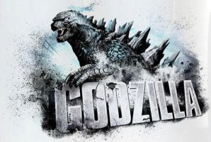 Godzilla 2014: Promotional Add Banner by sonichedgehog2
