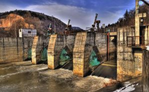 Dam in HDR by yoman3d