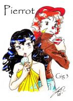 Pierrot Gig 3 Cover by PrinceRose