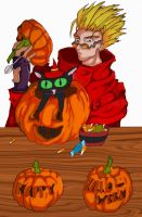 Trigun Halloween CG by moose-lee