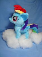 Rainbow Dash filly plush by PlanetPlush