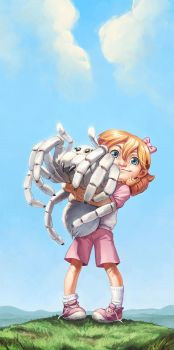 Spider Hugs by hellcorpceo