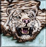 White Tiger Rug by IlseVerbeek