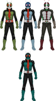 Kamen Rider the First and Next by Taiko554