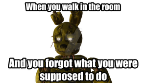 Springtrap is NOT amused #4 by TwilightAngelTM