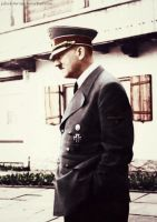 Adolf Hitler (in colour) 17 by Julia-Koterias