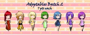 Adoptables batch 2 (7pts, Open) by unnameartist