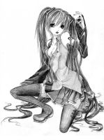 .: Miku Hatsune - Uta Hime :. by The-Crowned