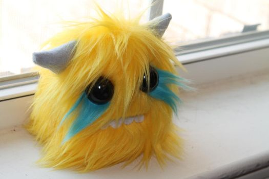 Monster Plushie by geekygamergirl
