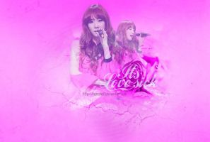 [Wallpaper] Its Love Sick by HanaBell1