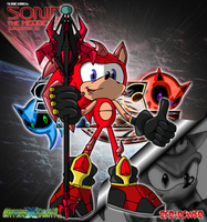 Sonic: Dimensions - SONICKING's: Sonic (Uni B) by STEhq