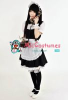 Japanese Cute Maid Costume by miccostumes