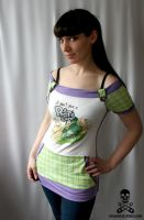 Ren and Stimpy Top by smarmy-clothes