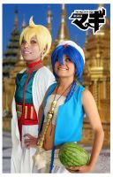 Alibaba and  Aladdin by mina-K-ta