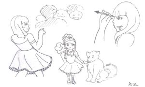 HT:: Fun Day Event Sketches by AlwaysAdoptAholic