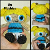 Powerpuff Girl Bubbles by oywiththeplushies