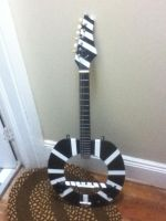 Toilet Seat Guitar Finished by k00li0theaws0me