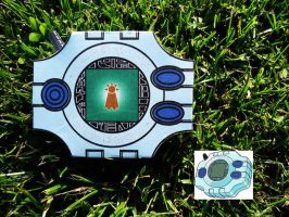[Digimon] Digivice - Hope - Papercraft by Mixowelle