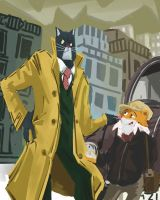 Blacksad by galgard
