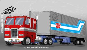TFG1: OPTIMUS PRIME ALT MODE by 11J