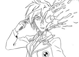 P3 Hero, Drawing by cats-on-mars8