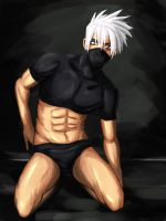 Kakashi in Playgirl by Polysicser