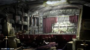 3D Abandoned Theatre by LillianLai
