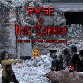 Rose vs Zombies by TrueLovePrevails