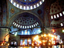 Blue Mosque by Lunar786Night