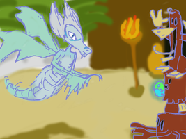 Efrim Platypus Egg by DarkFluffy-Turtel