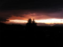 Sunset on Turin by Lutro