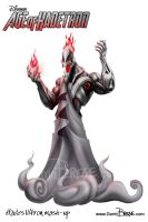 Age of Hadetron - Ultron/Hades mash-up by darrinbrege