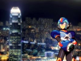 Megaman X - 1600x1200 by alby13
