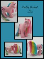 Daddy Parasol for AusMLP by Sweetlittlejenny