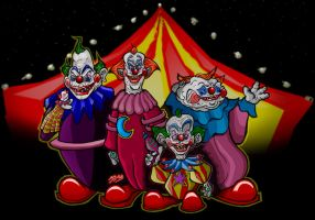 Killa Klowns Kolored by djb5k