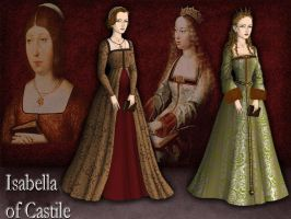 Isabella of Castile by Nurycat