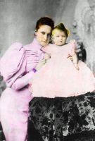 Empress Alexandra and Olga by Sonja-from-Finland