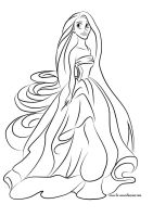 Colour Me: Rapunzel by Tella-in-SA