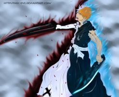 Shinigami + Quincy Zangetsu by InEc-Dve