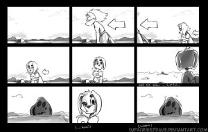 Little Wolf storyboard by SupaCrikeyDave