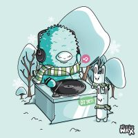 Dj Yeti by recycledwax