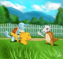 Pokemon by Domalyus