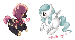 Holo Ponies (Info moved!!) // Cuppyboat by Minigini