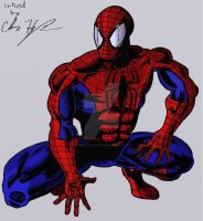 Spiderman Color fix by ChapeltheVicious