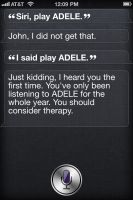 Siri on ADELE by PhotoshopIsMyKung-Fu