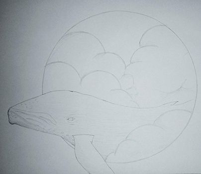 whale sketch by Anthony33894