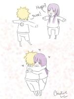 hug :naruhina: by christine326