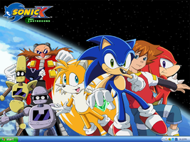 Sonic X wallpaper by badcoin