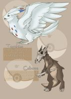 My Style of Poke'mon - Togkiss and Cubone by Tigryph
