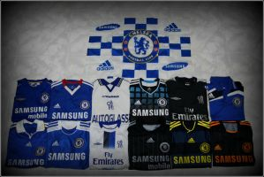 Chelsea FC jersey collection by syazwan10